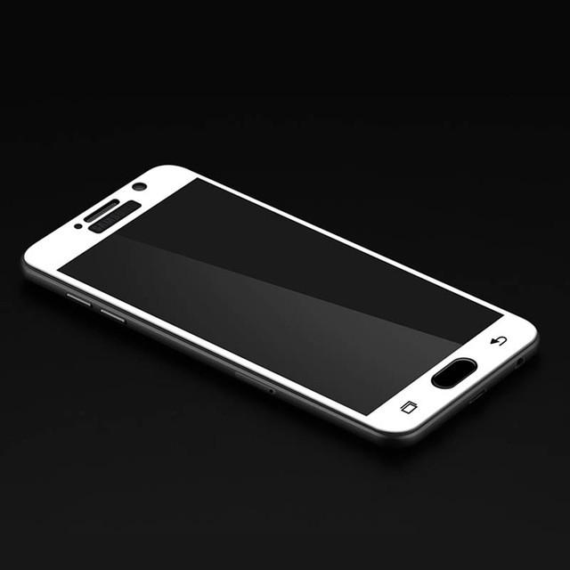 Защитное стекло для Samsung Galaxy A3 (2017) A320 полноэкранное белое