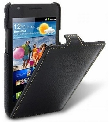 Чехол Melkco для Samsung i9100 Galaxy S II Black