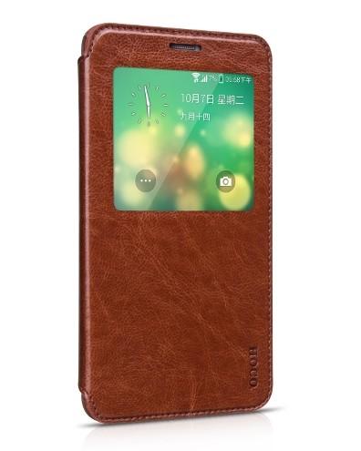 Чехол HOCO Crystal Leather Case для Samsung Galaxy Note 4 N910 Brown