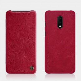 Чехол Nillkin Qin Leather Case для OnePlus 7 Red (красный)