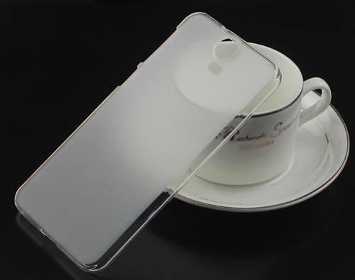 Накладка KissWill силиконовая для HTC One M9 Plus (M9+) прозрачно-белая