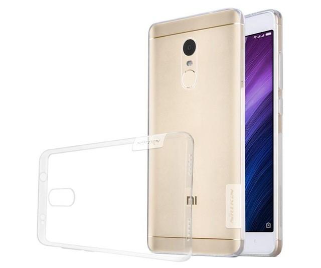 Накладка Nillkin Nature TPU Case силиконовая для Xiaomi Redmi Note 4X прозрачная