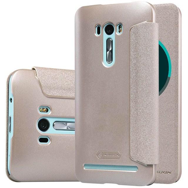 Чехол Nillkin Sparkle Series для Asus Zenfone Selfie ZD551KL Gold (золотой)