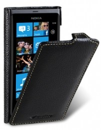 Чехол Melkco для Nokia Lumia 800 Black