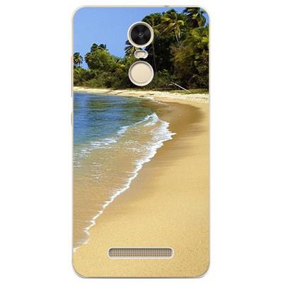 Накладка силиконовая для Xiaomi Redmi Note 3 Пляж 3D