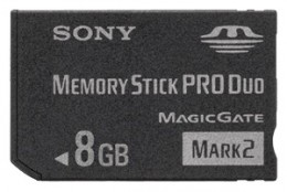 Sony Memory Stick Pro Duo 8Gb High Speed ОРИГИНАЛЬНАЯ!!!