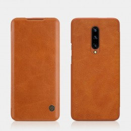 Чехол Nillkin Qin Leather Case для OnePlus 7 Pro Brown (коричневый)