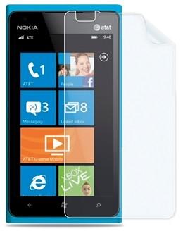 Пленка защитная для Nokia Lumia 900 глянцевая