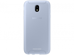 Накладка Jelly Cover для Samsung Galaxy J7 (2017) J730 EF-AJ730TLEGRU голубая