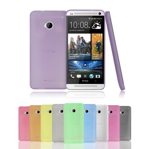 Накладка силиконовая для HTC One M8 желтая
