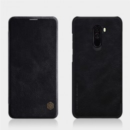 Чехол Nillkin Qin Leather Case для Pocophone F1 (Poco F1) Black (черный)
