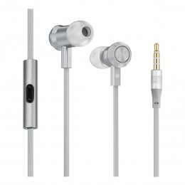 Наушники Hoco M7 Universal Metal Earphone Tarnish серые