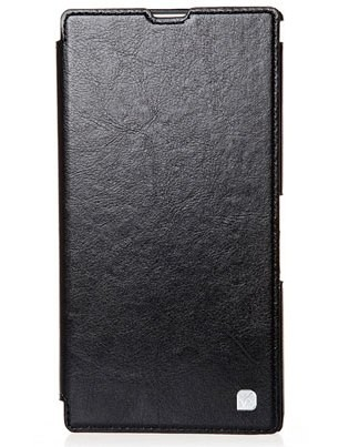 Чехол HOCO Crystal Leather Case для Sony Xperia ZR Black