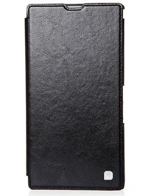 Чехол HOCO Crystal Leather Case для Sony Xperia ZR Black