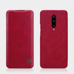 Чехол Nillkin Qin Leather Case для OnePlus 7 Pro Red (красный)