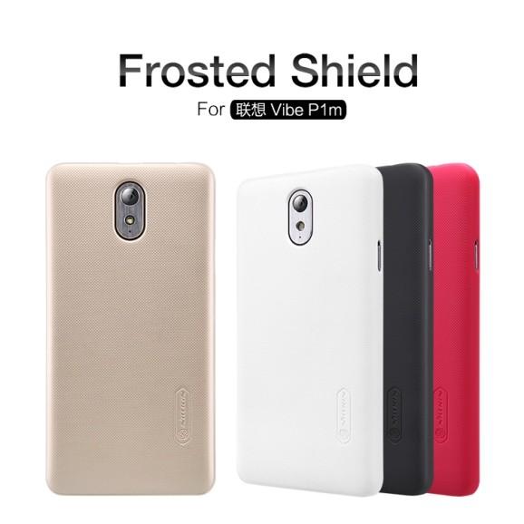 Накладка Nillkin Frosted Shield пластиковая для Lenovo Vibe P1m белая