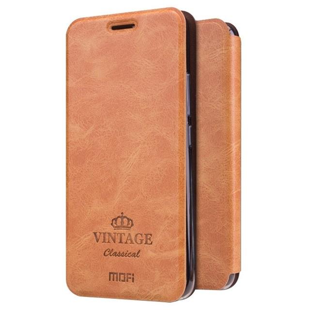 Чехол Mofi Vintage Classical для Meizu M5 (M5 mini) Brown (коричневый)