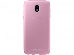 Накладка Jelly Cover для Samsung Galaxy J7 (2017) J730 EF-AJ730TPEGRU розовая