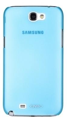 Накладка супертонкая XINBO для Samsung Galaxy Note 2 N7100 голубая