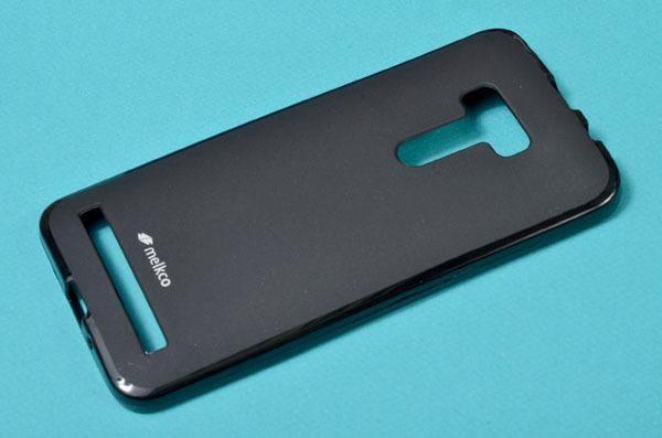 Накладка Melkco Poly Jacket силиконовая для Asus Zenfone Selfie ZD551KL Black Mat (черная)