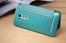 Чехол Nillkin Sparkle Series для Asus Zenfone Selfie ZD551KL Light Blue (голубой)