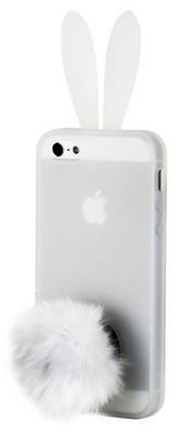 Накладка Rabito силиконовая для iPhone 5 прозрачная