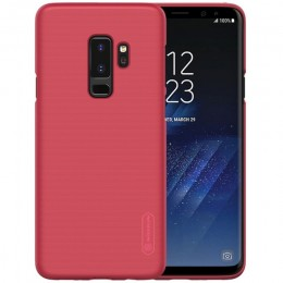 Накладка Nillkin Frosted Shield пластиковая для Samsung Galaxy S9 Plus SM-G965 Red (красная)