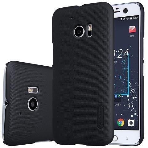 Накладка Nillkin Frosted Shield пластиковая для HTC One M10 Lifestyle Black (черная)