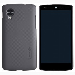 Накладка Nillkin Frosted Shield пластиковая для LG Nexus 5 (Google Nexus 5) Black (черная)