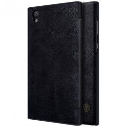 Чехол Nillkin Qin Leather Case для Sony Xperia L1 (G3311/G3312/G3313) Black (черный)