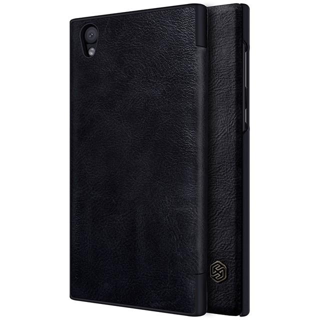Чехол Nillkin Qin Leather Case для Sony Xperia L1 (G3311/G3312/G3313) Black (черный)
