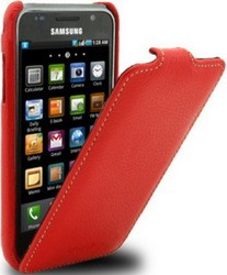 Чехол Melkco для Samsung Galaxy S Duos S7562 Red