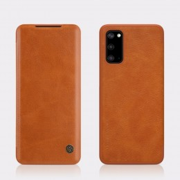 Чехол Nillkin Qin Leather Case для Samsung Galaxy S20 SM-G980 Brown (коричневый)