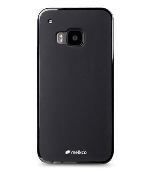 Накладка Melkco Poly Jacket силиконовая для HTC One M9 Black Mat (черная)