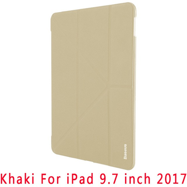 "Чехол Baseus Terse Series Leather Case для iPad New 2017 (9.7"") Khaki (бежевый)"