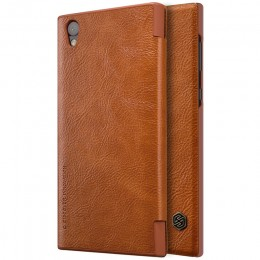 Чехол Nillkin Qin Leather Case для Sony Xperia L1 (G3311/G3312/G3313) Brown (коричневый)