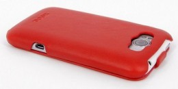 Чехол HOCO Leather Case для HTC Sensation XL Red