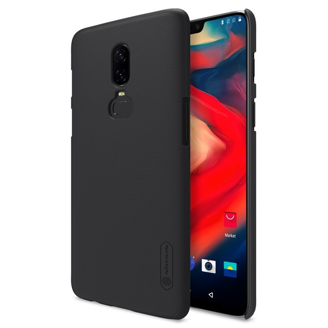 Накладка Nillkin Frosted Shield пластиковая для OnePlus 6 Black (черная)