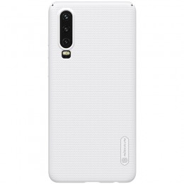 Накладка Nillkin Frosted Shield пластиковая для Huawei P30 White (белая)