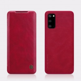 Чехол Nillkin Qin Leather Case для Samsung Galaxy S20 SM-G980 Red (красный)
