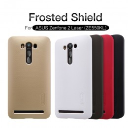 Накладка Nillkin Frosted Shield пластиковая для ASUS Zenfone 2 Laser ZE550KL белая