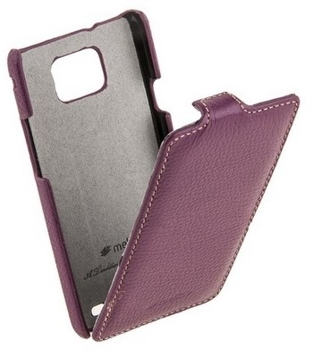 Чехол Melkco для Samsung i9100 Galaxy S II Purple