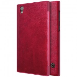 Чехол Nillkin Qin Leather Case для Sony Xperia L1 (G3311/G3312/G3313) Red (красная)