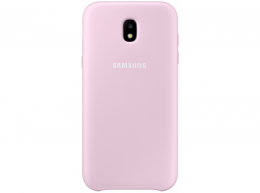 Накладка Dual Layer Cover для Samsung Galaxy J7 (2017) J730 EF-PJ730CPEGRU розовая