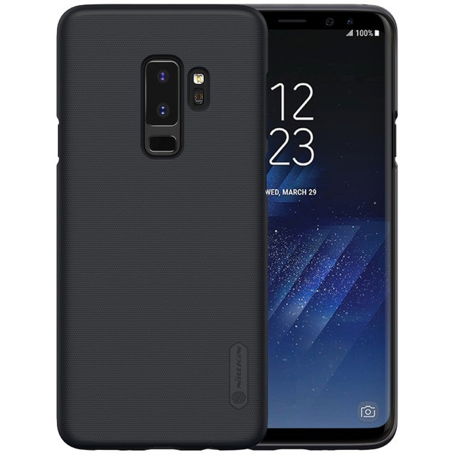 Накладка Nillkin Frosted Shield пластиковая для Samsung Galaxy S9 Plus SM-G965 Black (черная)