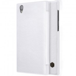 Чехол Nillkin Qin Leather Case для Sony Xperia L1 (G3311/G3312/G3313) White (белая)