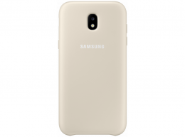 Накладка Dual Layer Cover для Samsung Galaxy J7 (2017) J730 EF-PJ730CFEGRU золотистая