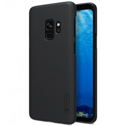 Накладка Nillkin Frosted Shield пластиковая для Samsung Galaxy S9 SM-G960 Black (черная)