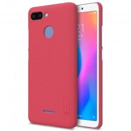 Накладка Nillkin Frosted Shield пластиковая для Xiaomi Redmi 6 Red (красная)