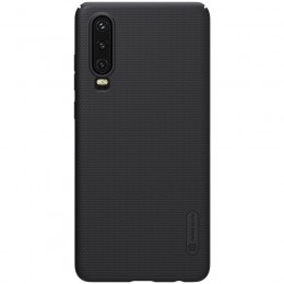 Накладка Nillkin Frosted Shield пластиковая для Huawei P30 Black (черная)
